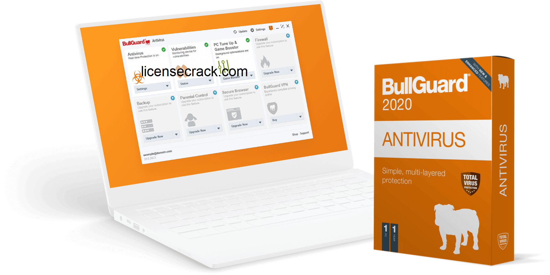 BullGuard Antivirus 21.0.385.9 Crack with License Key 2020 Free Download