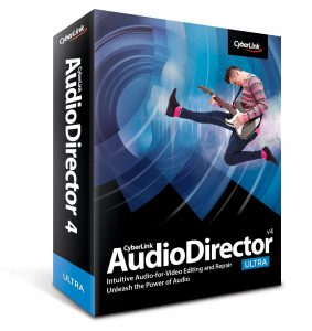 CyberLink AudioDirector Ultra 10.0.2315.0 Crack Full 2020