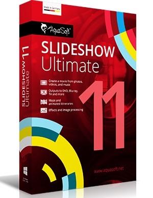 AquaSoft SlideShow Ultimate 11.8.01.01415 Crack + Serial Key