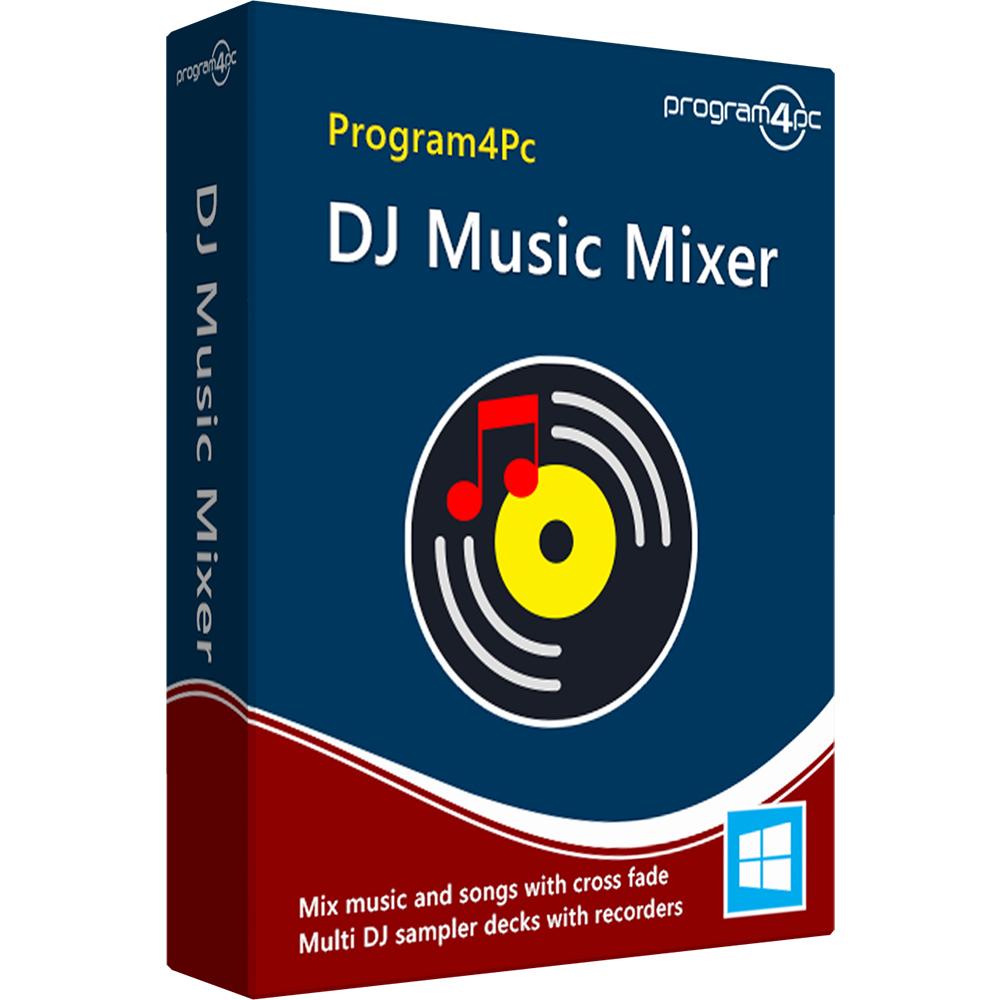 Program4Pc DJ Music Mixer 8.4 Crack + Activation Key 2020