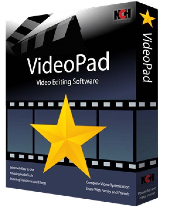 VideoPad Video Editor Pro 8.75 Crack + Registration Code
